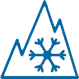 3 PMSF - Tree Peak Moutain Snow Flake - Symbol